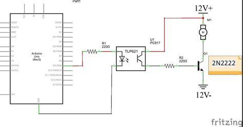 controlling fan speed  photon  fet transistor