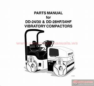 Ingersoll Rand Vibratory Compactors Dd24 Parts Manual