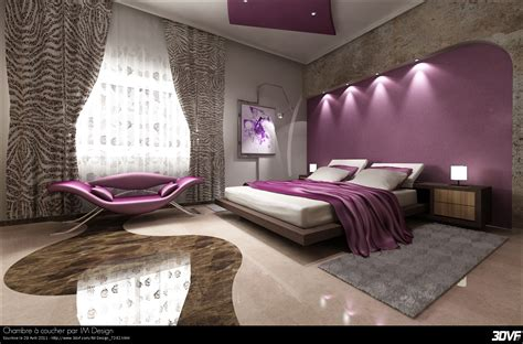 design chambre à coucher 3dvf com portfolio de tarmiz ilyes im design