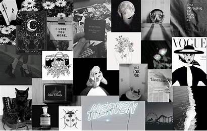 Collage Aesthetic Wallpapers Desktop Laptop Backgrounds Computer