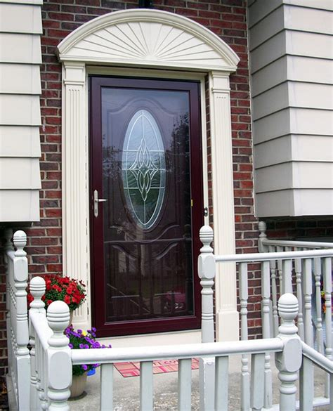 therma tru entry door systems  storm door modern