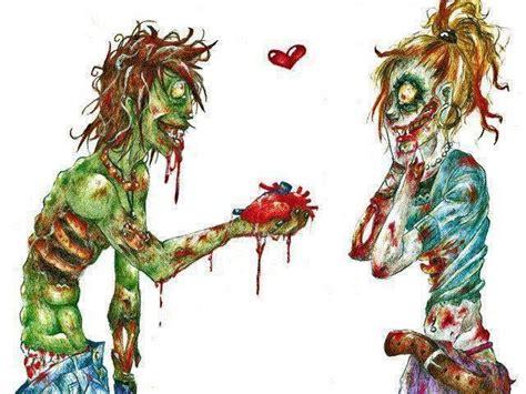 cute zombie couple badass art pinterest couple