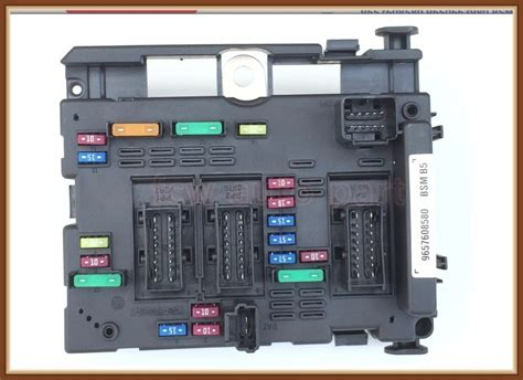 Fast Shipping Fuse Box Unit Assembly Relay For Peugeot