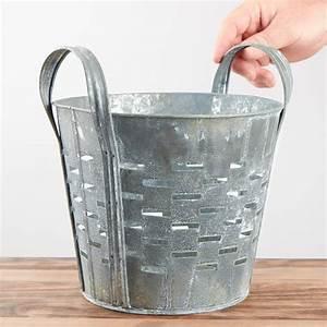 Large, Galvanized, Olive, Bucket, -, What, U0026, 39, S, New, -, Home, Decor, -, Home, Decor