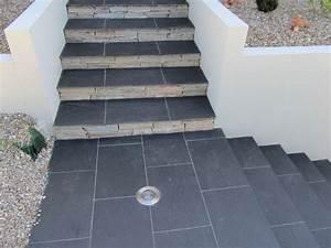 Antidérapant Pour Des Escaliers Extérieurs : photos carrelage escalier exterieur entr e et escalier pour l 39 ext rieur home deco home ~ Melissatoandfro.com Idées de Décoration