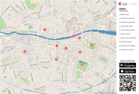 Sehenswürdigkeiten Dublin Karte