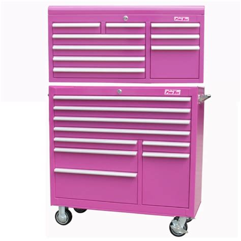 pink tool box dresser i want one for makeup pink tool chest makeup