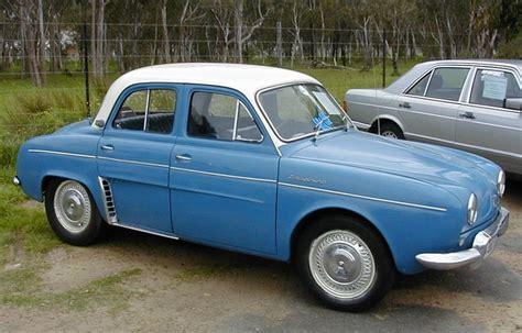 renault dauphine convertible 1951 1960 sa classic