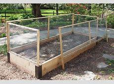 Raised Bed Fence with Custom Corners