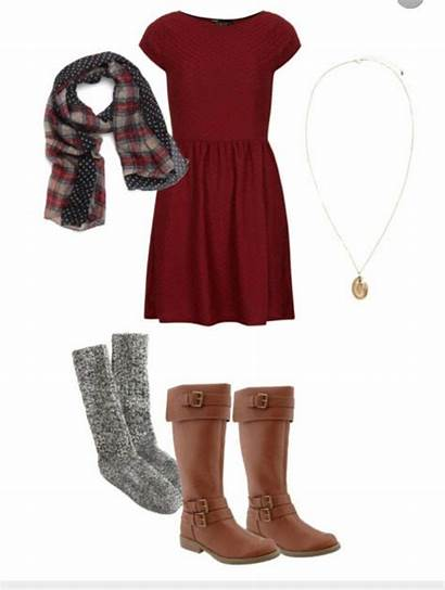 Teens Outfits Dresses Casual Holiday Wear Winter