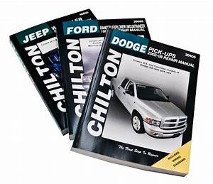 Chrysler Dodge Chilton Total Car Care