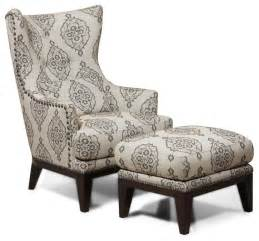 grey linen chair simon li fabric accent chair and ottoman set