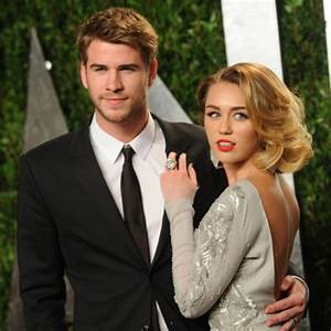 Miley Cyrus Engaged to Liam Hemsworth: Engagement Ring ...