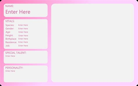 oc bio template mlp oc sheet template small by outlawquadrant on deviantart