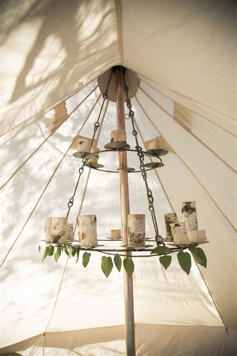 Bell Tent Chandelier by Stout Bell Tent Ultimate Series Stout Tent