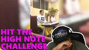 Hit The High Note Challenge [MUSIC REACTION] - YouTube