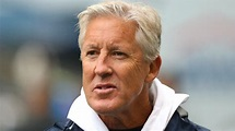 Pete Carroll drilled in face with football   Sporting News ...