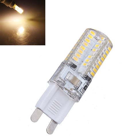 g9 3w warm white 64 smd 3014 led spot light bulbs 220v