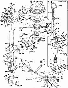 Evinrude Ignition System  U0026 Starter Motor Parts For 1988