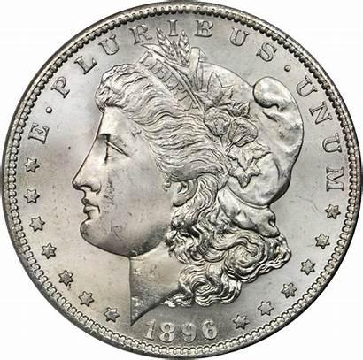 1896 Dollar Silver Value Morgan Coins Rare