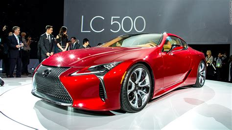 awesome lexus sports car lexus lc 500 cool cars from the detroit auto show cnnmoney