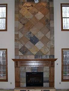 Pin by fozzie bear on mantel pinterest for Stylish options for fireplace tile ideas