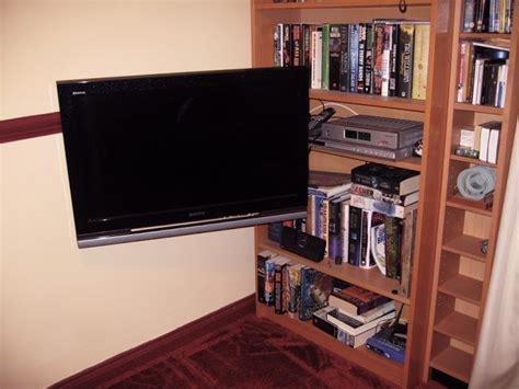 grundtal pivoting tv mount ikea hackers