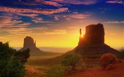 Canyon Sunrise Grand Arizona Desert Desktop Backgrounds
