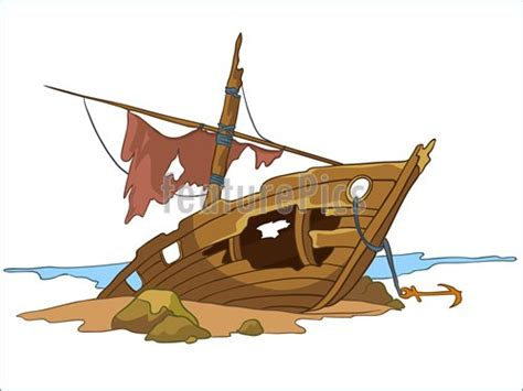 animated wrecked shipwreck clipart clipart suggest