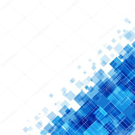 Background Png Vector by Abstract Geometric Squares Lines Blue Vector Background