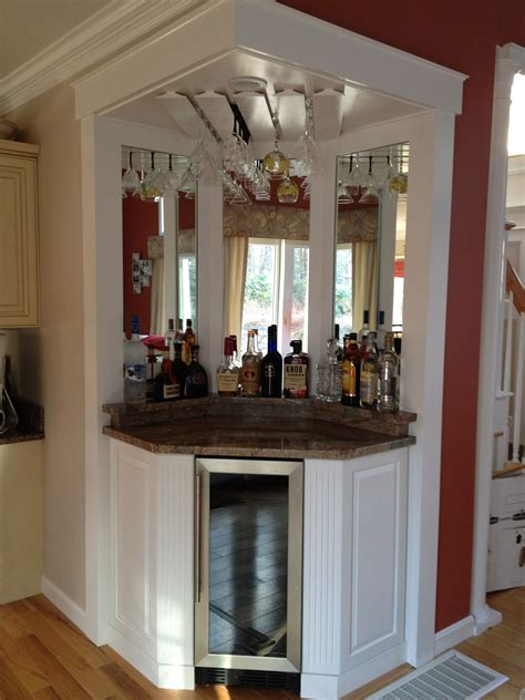 A diy coffee bar in your home can help you entertain family, friends, loved coffee bars in kitchen coffee bar home home coffee stations kitchen small office coffee station wine and coffee bar table palette coffee bar. Corner wine bar, love it! | Corner bar cabinet, Home bar designs, Corner wine cabinet