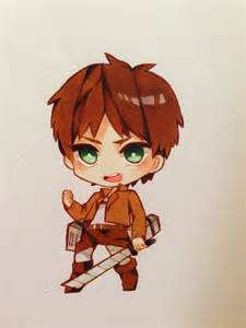 Attack On Titan Eren Chibi