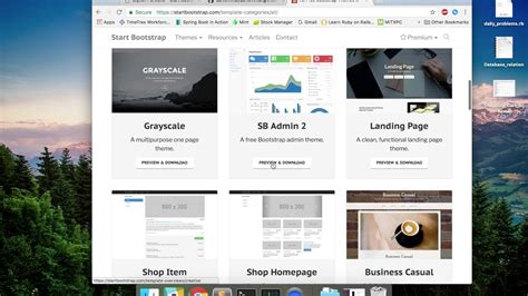 github website template update personal website on github using bootstrap free templates