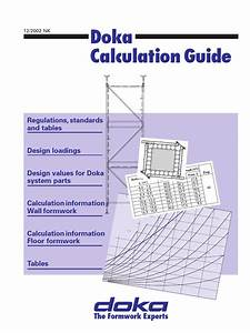 Doka Calculation Guide