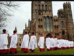 Ely Cathedral Choir(UK) - Lo he comes with clouds ...