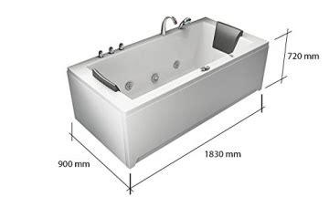 whirlpool badewanne villa eugenie ii im test mit leds