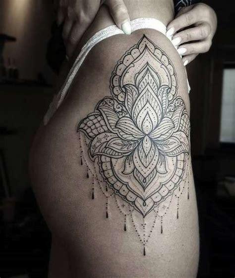 pin  abi  su tattooz mandala hip tattoo tattoos