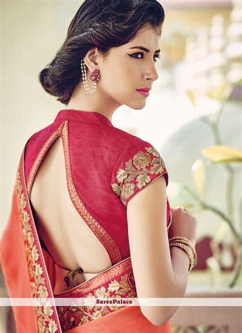 blouson blouse 1000 ideas about designer saree blouses on