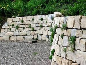 Steine Für Trockenmauer : trockenmauer pflasterbau gartengestaltung ~ Michelbontemps.com Haus und Dekorationen