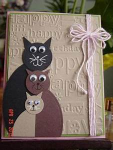 Monster birthday card Tarjetas Pinterest