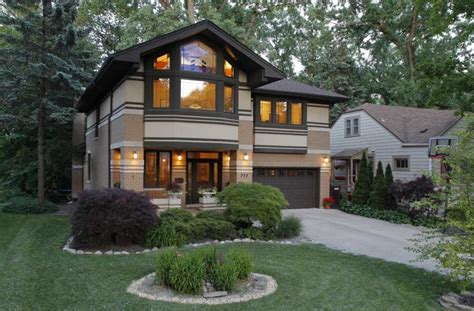 painted small prairie style house plans house style design modern prairie style homes with garage design ideas