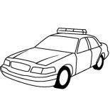 special force police car coloring page color luna
