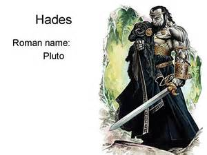Greek Vs. Roman Mythology Gods Names