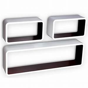 Etagere Cube Blanc : etagere murale avec porte achat vente etagere murale avec porte au meilleur prix hellopro ~ Teatrodelosmanantiales.com Idées de Décoration