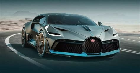 Bugatti Has Just Revealed One Of The