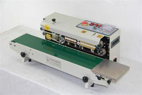 continuous plastic bag sealing machine date code heat shrinking sealerimpulse sealer fr
