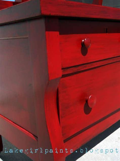 furniture redo  red  black