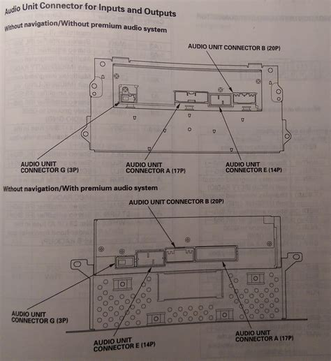 2010 Honda Civic Ex Wiring Diagram by Complete Stereo Wire Diagrams All Stereos Navigation