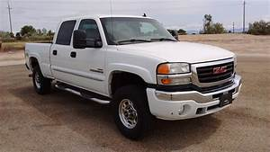 2006 Gmc Sierra 2500hd   Crew Cab Duramax   Stock   0419