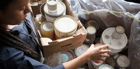 paint dispose drop paintcare safely left local recycle locations